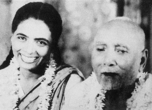 Annapurna With her father Allauddin Khan